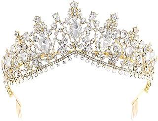 LUCKYYY Wedding Crown Bride Crown Accessori da Sposa per Matrimonio