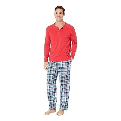 Tommy Bahama Pajama Set (Winter Plaid) Men