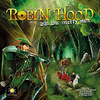 FINAL FRONTIER GAMES Robin Hood & The Merry Men Board Game