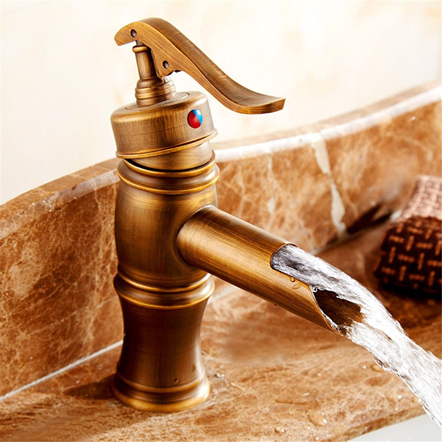 Good quality Antique Basin Sink Mixer Tap The Antique brass faucet antique basin mixer