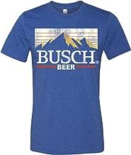 Brew City Beer Gear Busch Beer Vintage Mountains Short Sleeve T-Shirt