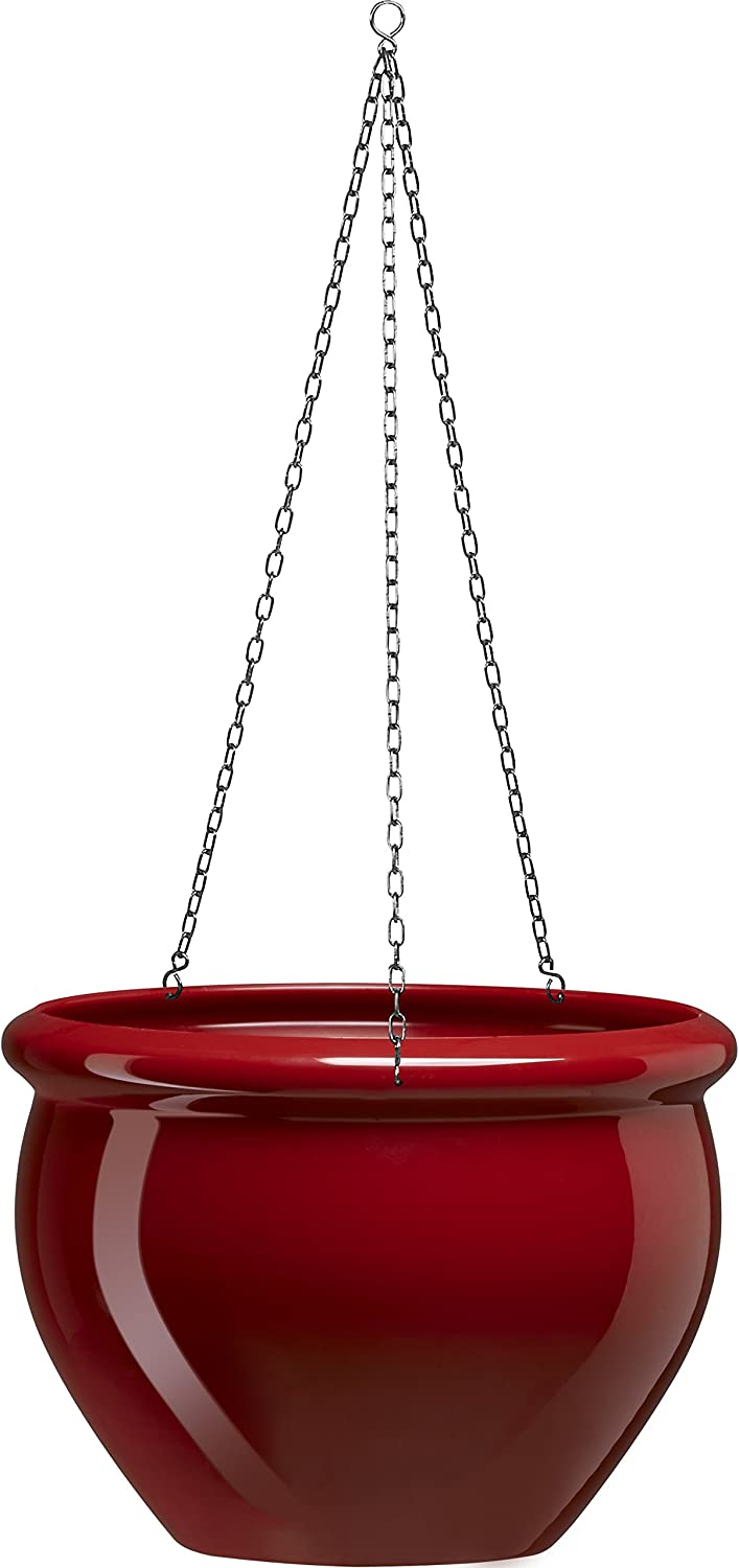 SIENA Popular brand in the Fort Worth Mall world NOBILE Hanging Planter Ruby cm 26 Red