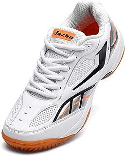 Jazba GECKOR 1.0 Bádminton Racquetball Squash Volleyball Calzado de Corte para Hombre, Zapatillas Ligeras Antideslizantes
