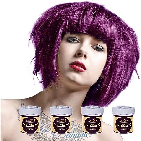 La Riche Directions Semi-Permanent Hair Colour Dye Box Of Four-Plum by La Riche