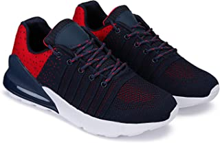 Bersache Running Sports Shoes,Lace-Up,Flylnit Socks for Men (3187)