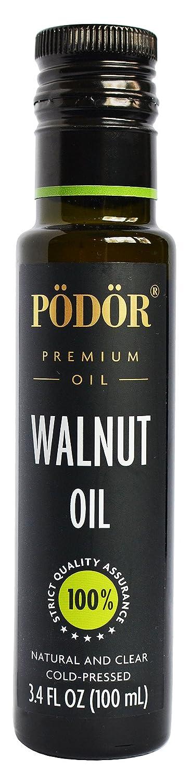 PÖDÖR Premium Walnut Oil - Oz. 3.4 100 fl. Cold-Pressed Miami Mall Popular products
