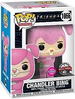 FUNKO POP FRIENDS EXCLUSIVE - CHANDLER BING 1066 (FLOCKED)