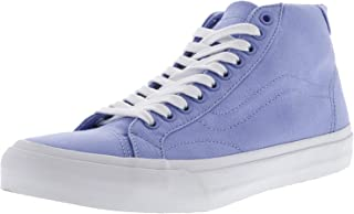 Vans Mens Court Mid Canvas Low Top Lace Up Fashion Sneakers