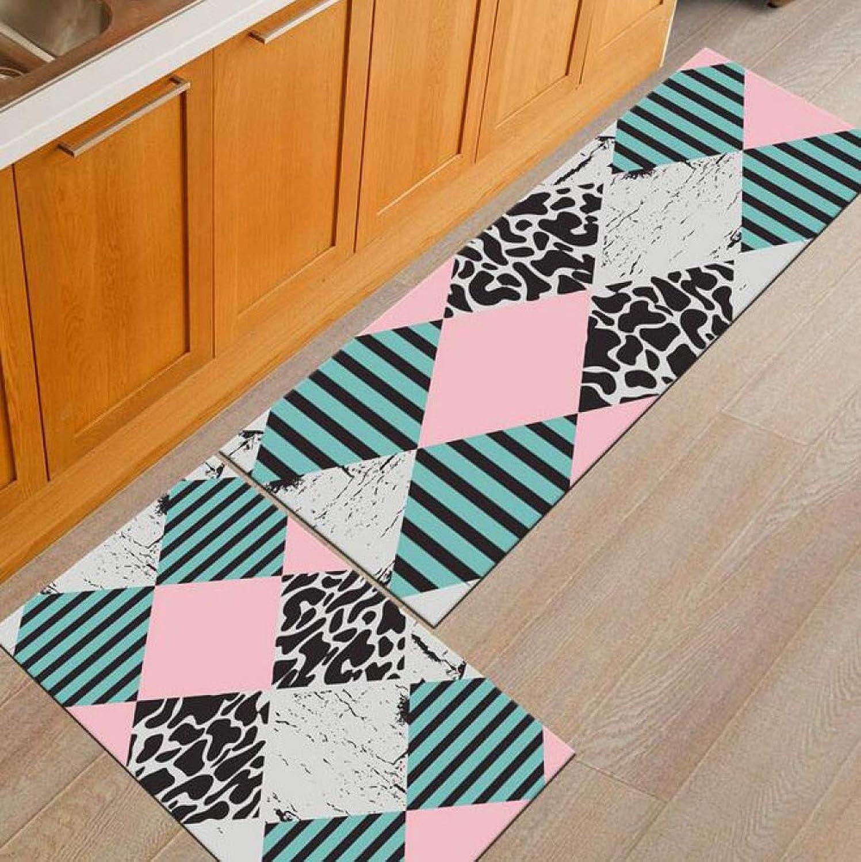 Door Mat, New Multi-color Modern Non-Slip Waterproof Kitchen Bedroom Utility Door Mat,TT-010-40  60CM