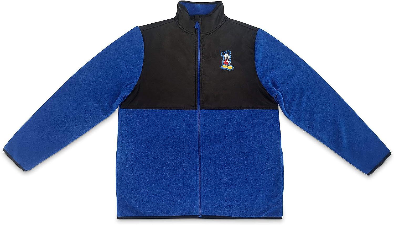 Disney Mickey Mouse Pieced Fleece Jacket for Men