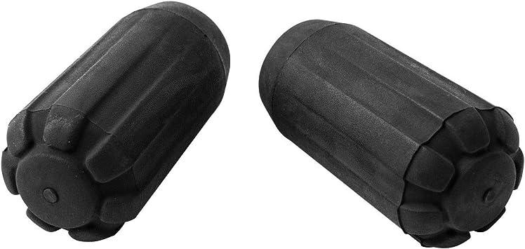 accesorios para bast/ón de senderis Funda para bast/ón de trekking protectores de punta de bast/ón de senderismo bastones de senderismo bast/ón de goma funda para la cabeza de la ca/ña de senderismo soporte para la nieve