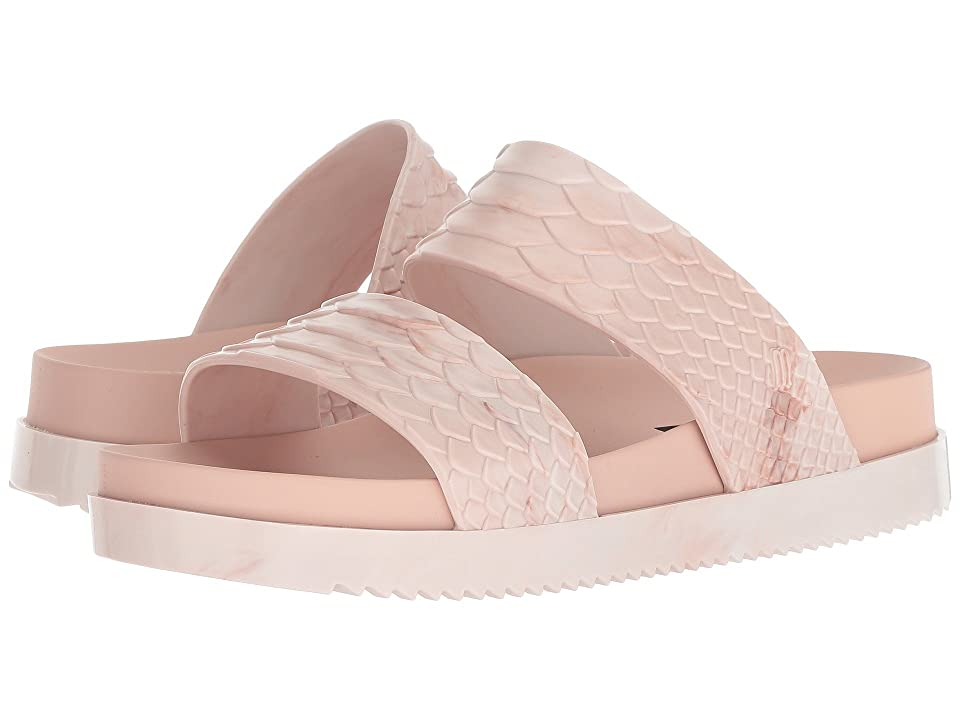 Melissa Shoes x Baja East Cosmic Python Sandal (Light Pink Mixed) Women