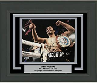 c59704a580595 Amazon.com: Manny Pacman Pacquiao - Sports: Collectibles & Fine Art
