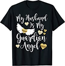 My Husband is my Guardian angel in memory of my husband
