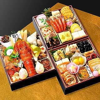 小樽きたいち 海鮮おせち 楓 6.5寸三段重 全40品 (12月29日(日))