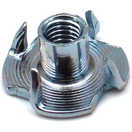 mit 4 Einschlagspitzen - SC9105 25 St/ück Einschlagmuttern - M8 V2A SC-Normteile rostfreier Edelstahl A2