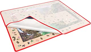 Sponsored Ad – Becko US Jigsaw Puzzle Board Portable Puzzle Mat with Puzzle Dustproof Cover for Puzzle Storage Saver, Non-...