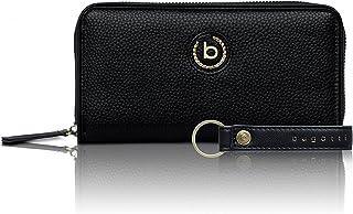 Bugatti Passione Geldbörse Damen Groß - Frauen Geldbeutel mit Reißverschluss Lang - Damengeldbörse Langbörse Portemonnaie ...