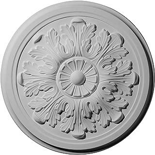 Ekena Millwork CM12LE Legacy Acanthus Ceiling Medallion, 12 3/4