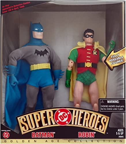 DC Super Heroes Spielfiguren, Batman und Robin, 22,9 cm, Sammlerfiguren