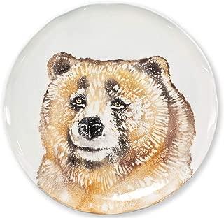 Vietri Into The Woods Bear Salad Plate