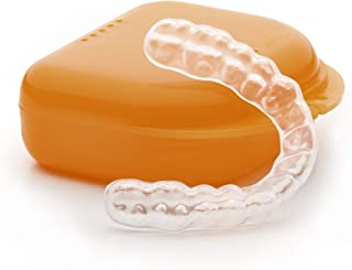 Encore Guards - Custom Dental Night Guard/Mouth Guard for Protection Against Teeth Grinding/Clenching/Bruxism and TMJ Relief (Upper, Hard - Single Layer)