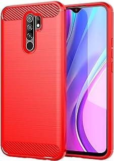 جراب FanTing لهاتف Xiaomi Poco M2 Pro، مضاد للانزلاق، رفيع للغاية ماص للصدمات ومضاد للخدش، غطاء لهاتف Xiaomi Poco M2 Pro -...
