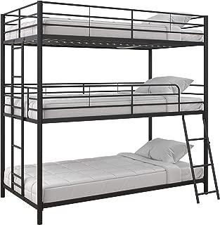 Max & Finn Bunk bed, Twin/Twin/Twin, Black