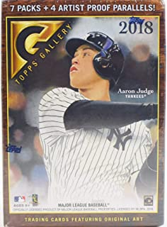 2018 Topps Gallery Baseball Blaster Box, Look for Acuna, Ohtani RC's & more