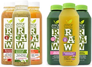 Juice From the RAW 3 Day Soup n' Juice Cleanse - 18 Bottles - FREE 2-Day Delivery