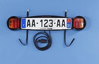 Mottez - Placa de señalización para portabicicletas