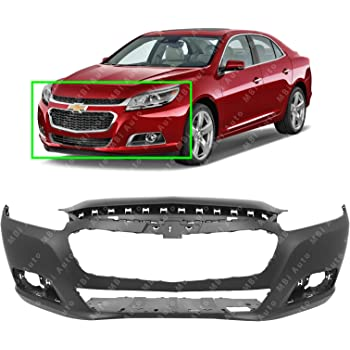 Amazon Com Mbi Auto Primered Front Bumper Cover Fascia For 2014 2015 Chevy Malibu 14 15 2016 Malibu Limited Old Body 16 Gm1000962 Automotive