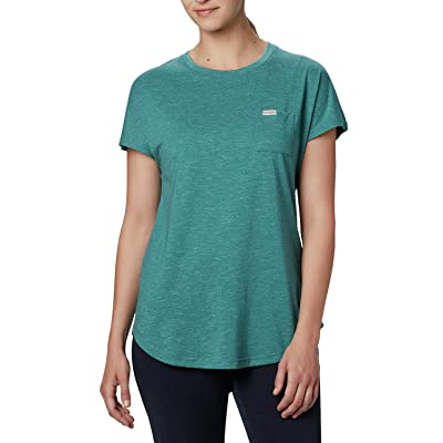 Columbia Cades Capetm Tee (Waterfall) Women