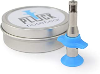 The PLUCK Nose Hair & Ear Hair Remover. Designed for Hair Removal in Men & Women. Compare with Nose Hair Trimmers & Waxing Kits.
