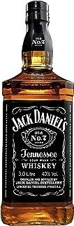 """Jack Daniel""""s Old No.7 Tennessee Whiskey - 40% Vol. 1 x 3.0 l / Durch Holzkohle gefiltert. Tropfen für Tropfen"""