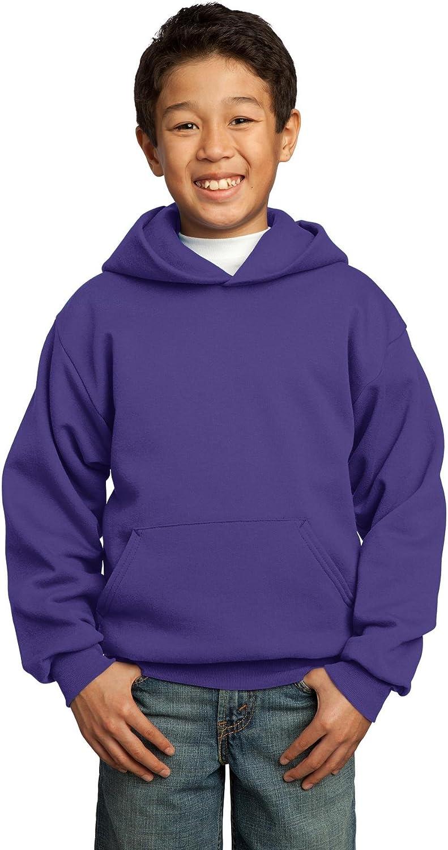 Port & Company Youth Fleece Pullover Hooded Sweatshirt