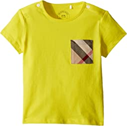 Burberry Kids - Mini Short Sleeve YNG Tee (Infant/Toddler)