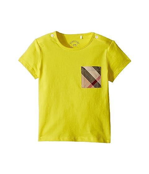 Burberry Kids Mini Short Sleeve YNG Tee (Infant/Toddler)
