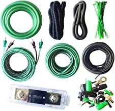 SoundBox 4 Gauge Amp Kit True AWG Amplifier Install Wiring 4 Ga 20 Ft Power Cable, 3500W