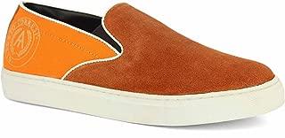 Alberto Torresi Saputo Orange Casual Shoes
