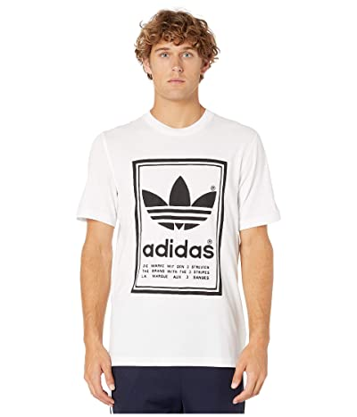 adidas Originals Vintage Tee (White/Black) Men