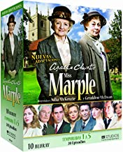 Agatha Christie's Miss Marple Seasons 1-5 The Murder at the Vicarage / 4:50 from Paddington / The Body in the Library / A Murder Is Announce Reg.A/B/C Spain