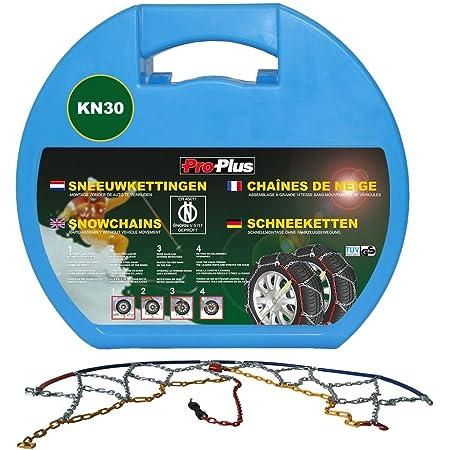 Lechnical 2x Schneeketten 12mm 205 55 16 205 65 15 205 50 17 215 45 17 Rutschfeste Verschleißfeste Reifenkette Für Suvs Busse Transporter Und Wohnmobile Küche Haushalt