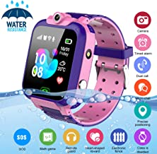 Kids Smart Watch,Childrens Smartwatch for Kids Girls,Waterproof LBS Tracker Watch HD..