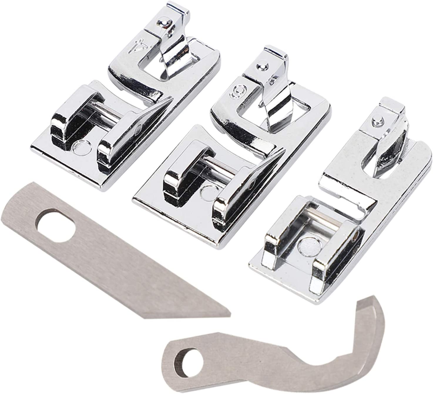 Rolled Hem Foot Presser Steel Stainless R Ranking TOP6 Set New product