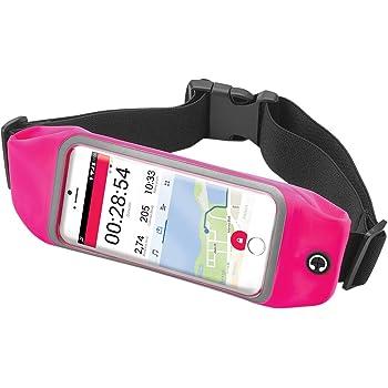 GUTEINTE Riñonera Running Sports Hombre Mujer - Soporte para teléfono deportivo con banda deportiva - para billetera Teclado para teléfono Smartphone y iPhone 11 Plus, Impermeable, Reflectante (Azul): Amazon.es: Deportes y aire libre