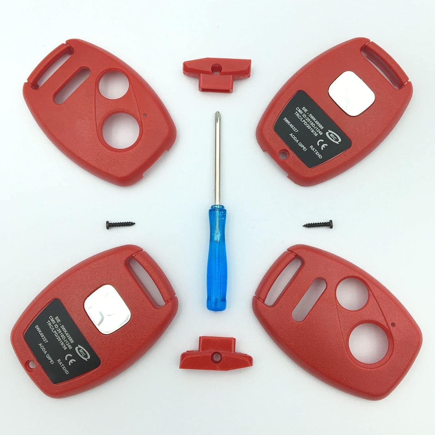 Henrida Keyless Entry Remote Key Replacement for C Housing 5% OFF Austin Mall Honda