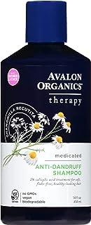 Avalon Organics, Shampoo Anti Dandruff Therapy, 14 Fl Oz