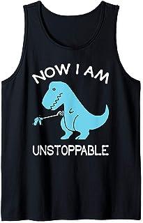 Now I'm Unstoppable - Funny T-Rex Dinosaur Débardeur