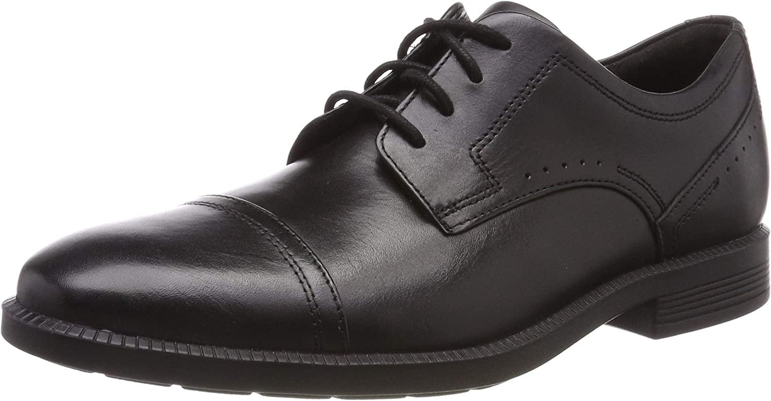 HUWSO  Rockport Herren Dressport Modern Cap Toe Leather Oxfords